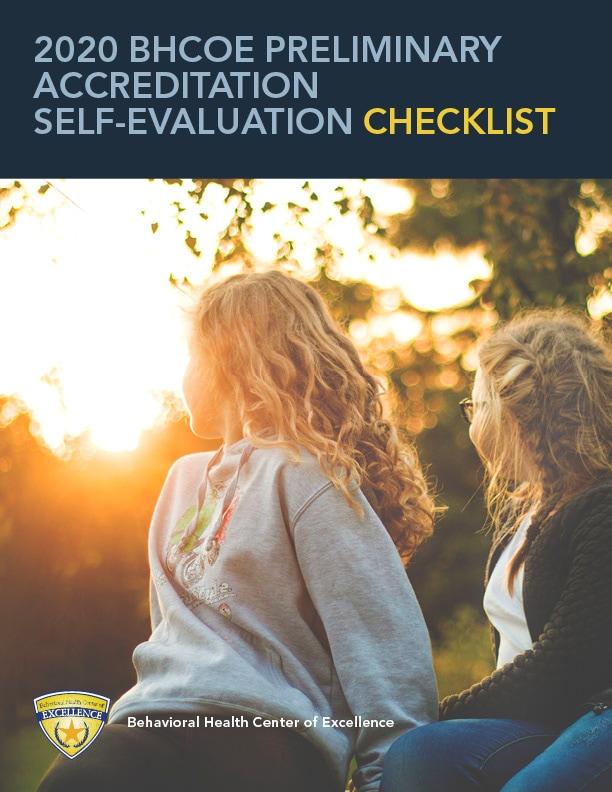 Preliminary Accreditation Self-Evaluation Checklist