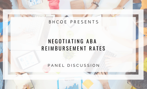 Negotiating ABA Reimbursement Rates