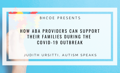Autism Speaks: Resources & Advocacy During COVID-19