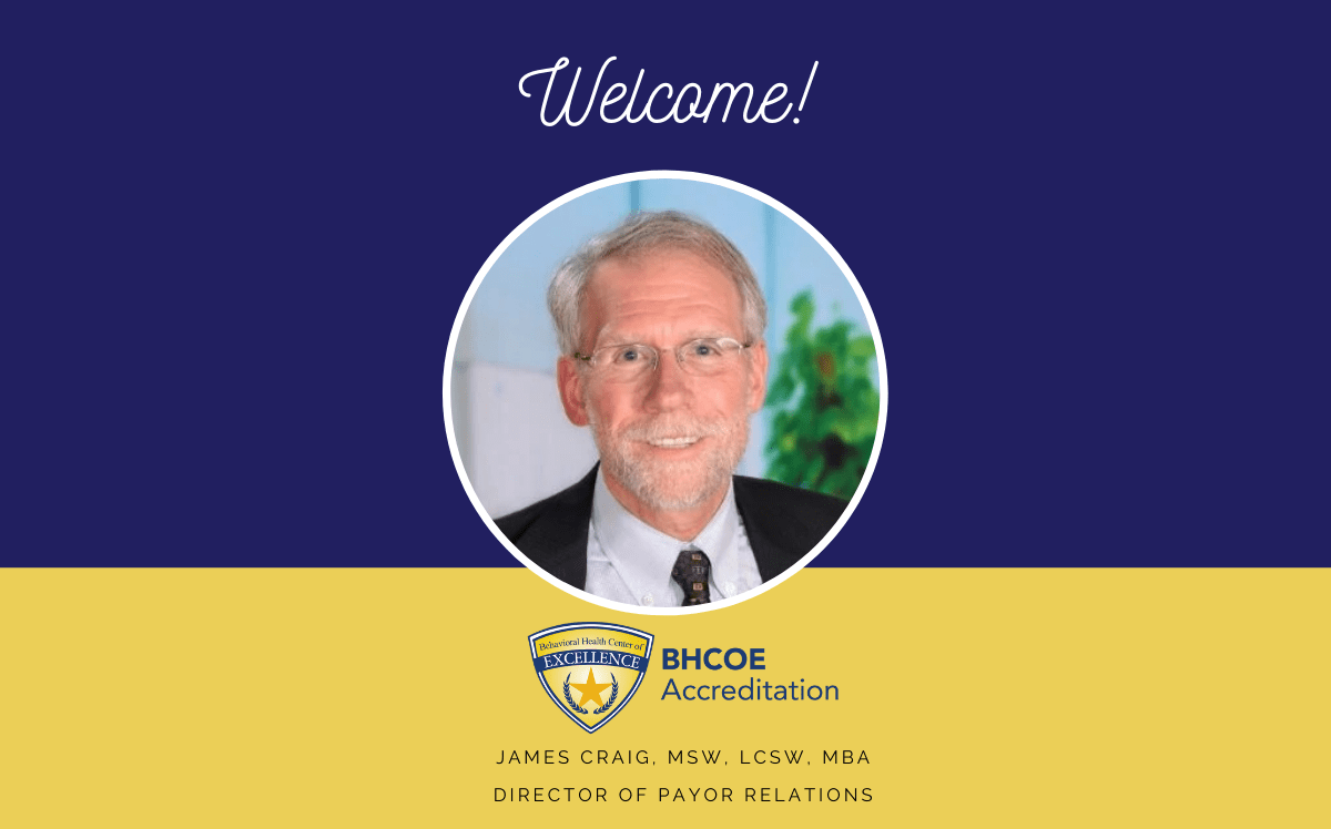 BHCOE Announces James Craig as Director of Payor Relations
