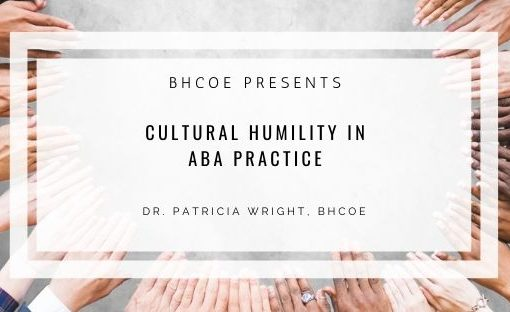 Cultural Humility in ABA Practice