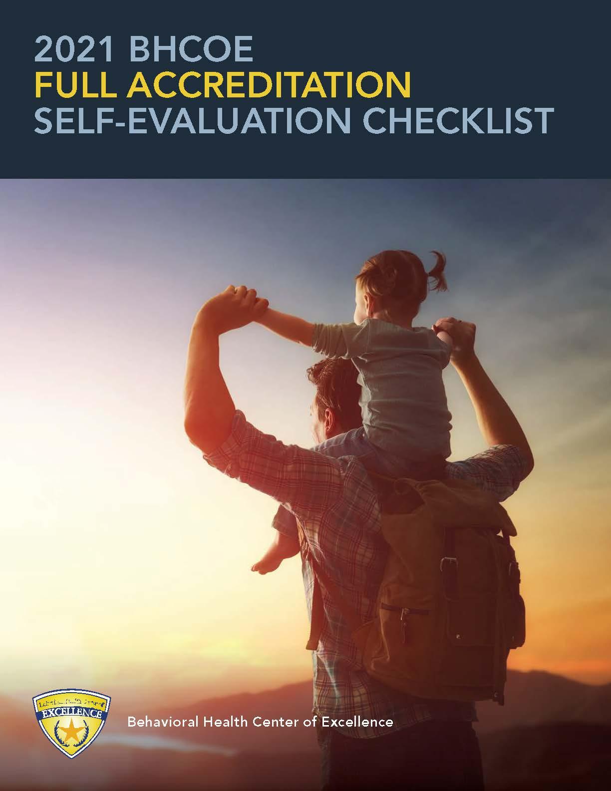 2021 Full Accreditation Self-Evaluation Checklist